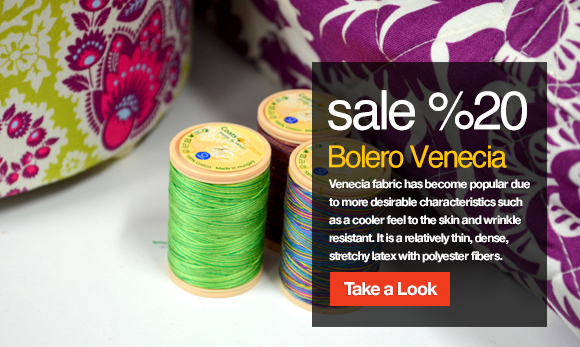 Bolero Venecia Wholesale Fabric